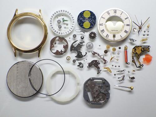 クォーツ式腕時計修理---シチズンライトハウス2870Aクォーツ腕時計 分解掃除(オーバーホール)【times-machine.com】《 時計修理 》【三田時計メガネ店@栃木県大田原市前田】