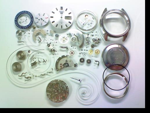 52.セイコー5(ファイブ)5126A自動巻腕時計分解掃除(オーバーホール)