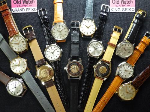 アンティーク時計---【Old GRAND SEIKO】《 手巻 》【Old KING SEIKO】【times-machine.com】《 時計修理 》【三田時計メガネ店@栃木県大田原市前田】