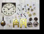 クラウンファン30日巻カギ巻柱時計分解掃除(オーバーホール)