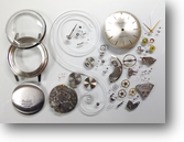 ロイヤルオリエントC手巻腕時計分解掃除(オーバーホール)