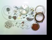 セイコークロノスC76手巻腕時計分解掃除(オーバーホール)
