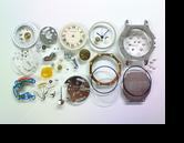 カルティエサントス87クォーツ腕時計分解掃除(オーバーホール)
