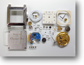 クリスチャンディオールETA955412クォーツ腕時計分解掃除(オーバーホール)