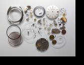 ユニバーサルホワイトシャドウ1-67自動巻腕時計分解掃除(オーバーホール)