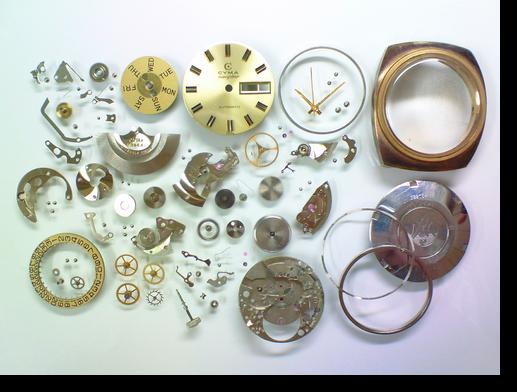 85.シーマネイビースターR.824.00自動巻腕時計分解掃除(オーバーホール)