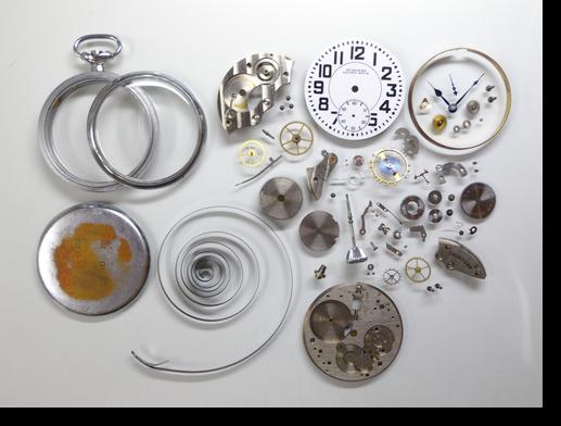 53.セイコー手巻提げ時計(19セイコー鉄道時計)分解掃除(オーバーホール)