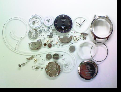 93.シチズンクリスタルセブン8200自動巻腕時計分解掃除(オーバーホール)