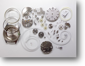 セイコーロードマチック5601A自動巻腕時計分解掃除(オーバーホール)