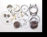 セイコークロノスW21手巻腕時計分解掃除(オーバーホール)