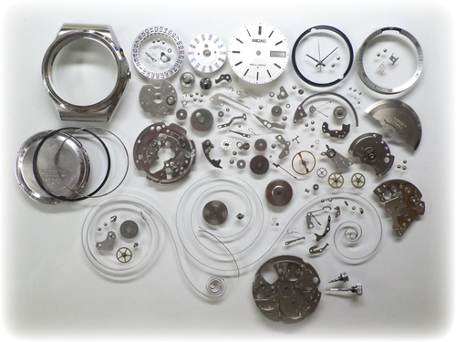 機械式腕時計修理---セイコーベルマチック4006A自動巻腕時計 分解掃除(オーバーホール)【times-machine.com】《 時計修理 》【三田時計メガネ店@栃木県大田原市前田】