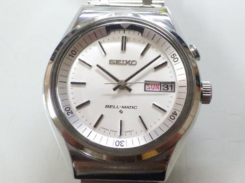 機械式腕時計修理---セイコーベルマチック4006A自動巻腕時計【times-machine.com】《 時計修理 》【三田時計メガネ店@栃木県大田原市前田】