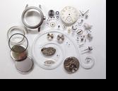 エルジン554手巻腕時計分解掃除(オーバーホール)