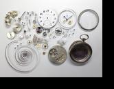 ロンジン17.25手巻提げ時計分解掃除(オーバーホール)