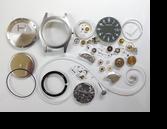 ハミルトンカーキETA2804-2手巻腕時計分解掃除(オーバーホール)