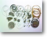 シチズンオートデーターユニ2400自動巻腕時計分解掃除(オーバーホール)
