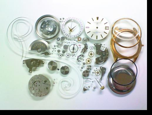 56.シチズンオートデーターユニ2400自動巻腕時計分解掃除(オーバーホール)