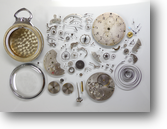 セイコー夜光秒時計一型69手巻提げ時計分解掃除(オーバーホール)