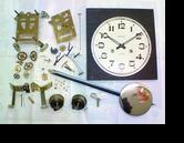 アイコー30日巻カギ巻柱時計分解掃除(オーバーホール)