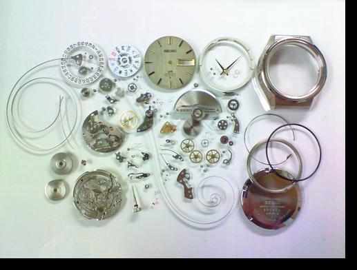 57.セイコーロードマチック5606A自動巻腕時計分解掃除(オーバーホール)