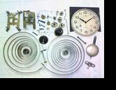 リズム30日巻カギ巻柱時計分解掃除(オーバーホール)