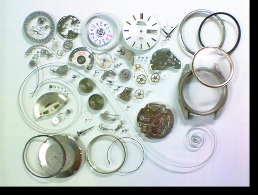 54.セイコー5アクタスSS6106C自動巻腕時計分解掃除(オーバーホール)