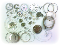 機械式腕時計修理---セイコーファイブ6106C自動巻腕時計 分解掃除(オーバーホール)【times-machine.com】《 時計修理 》【三田時計メガネ店@栃木県大田原市前田】