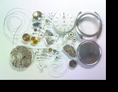ユニバーサルホワイトシャドウ2-66自動巻腕時計分解掃除(オーバーホール)