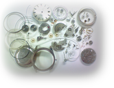 シチズンオートデーターユニ2400自動巻腕時計 分解掃除(オーバーホール)---もうちょっと詳しく・・・拡大版【OVERHAUL】《 時計分解 》【times-machine.com】時計修理の分解工程・組立工程へ