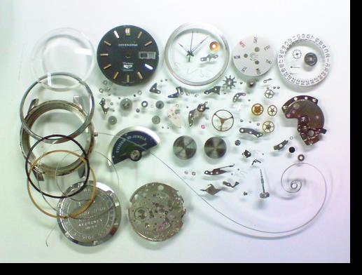 31.シチズンセブンスターデラックス5270自動巻腕時計分解掃除(オーバーホール)