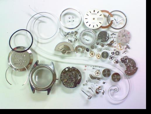 38.シチズンコスモスターV26601自動巻腕時計分解掃除(オーバーホール)