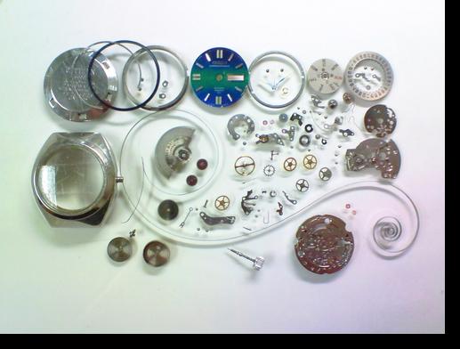 28.シチズンコスモスターV26601自動巻腕時計分解掃除(オーバーホール)