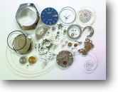 シチズンアドレックス8050A自動巻腕時計分解掃除(オーバーホール)
