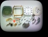 シチズンライトハウス3630Aクォーツ腕時計 分解掃除(オーバーホール)---もうちょっと詳しく・・・拡大版【OVERHAUL】《 時計分解 》【times-machine.com】時計修理の分解工程・組立工程へ