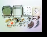 シチズンドレッセル3630Aクォーツ腕時計 分解掃除(オーバーホール)