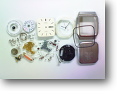 シチズンフォルマ5500Aクォーツ腕時計分解掃除(オーバーホール)