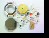 シチズンYSLイヴサンローラン2200Eクォーツ腕時計分解掃除(オーバーホール)