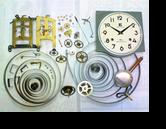 エイケイシャ30日巻カギ巻柱時計分解掃除(オーバーホール)