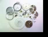 MOERIS16D手巻提時計 分解掃除(オーバーホール)