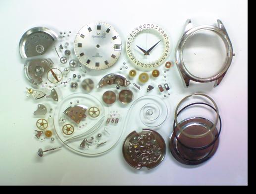 49.リコーダイナミックオート自動巻腕時計分解掃除(オーバーホール)
