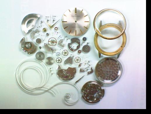 44.セイコースポーツマチック245自動巻腕時計分解掃除(オーバーホール)