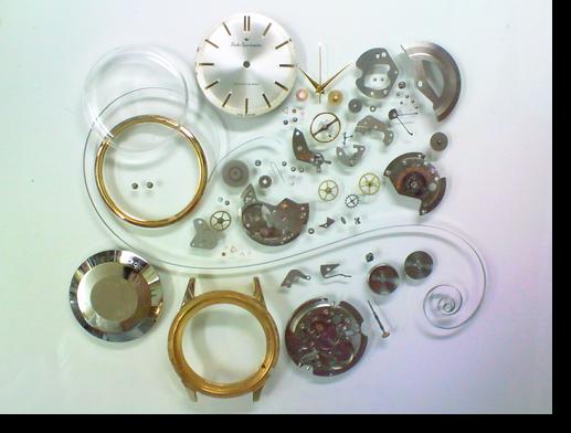 40.セイコースポーツマチック2451自動巻腕時計分解掃除(オーバーホール)