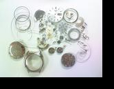 ユリスナルダン150720手巻提時計 分解掃除(オーバーホール)
