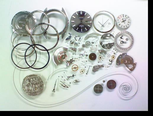 34.セイコーロードマチックスペシャル5206A自動巻腕時計分解掃除(オーバーホール)