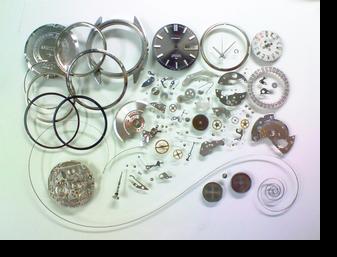 機械式腕時計修理---セイコーロードマチックスペシャル5206A自動巻腕時計 分解掃除(オーバーホール)【times-machine.com】《 時計修理 》【三田時計メガネ店@栃木県大田原市前田】
