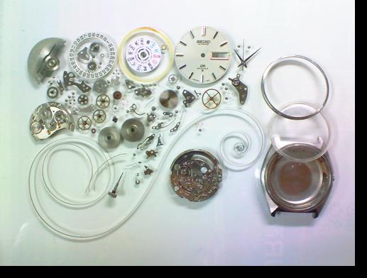 48.セイコーロードマチック5606A自動巻腕時計分解掃除(オーバーホール)
