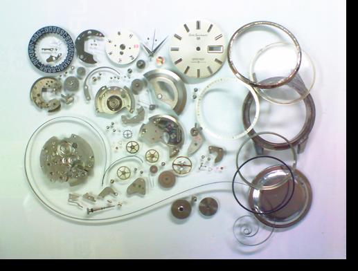 50.セイコー5スポーツマチック6619A自動巻腕時計分解掃除(オーバーホール)