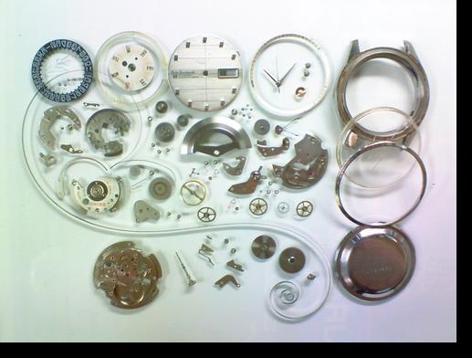 47.セイコー5スポーツマチック6619A自動巻腕時計分解掃除(オーバーホール)