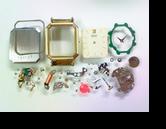 セイコー2320Aクォーツ腕時計 分解掃除(オーバーホール)
