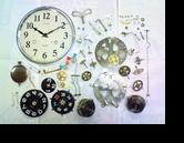 セイコー30日巻カギ巻柱時計 分解掃除(オーバーホール)